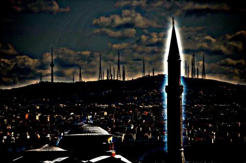 Minaret Istanbul 2012