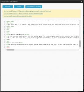 Another XML Error