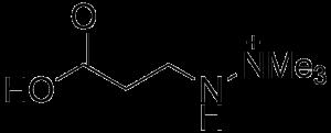 The Structure of Meldonium