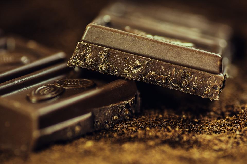The light in dark chocolate